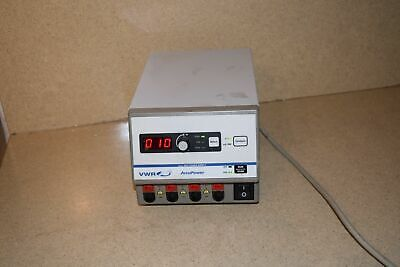 Vwr Accupower Model 300 Power Supply