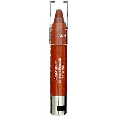 4 Pack Neutrogena MoistureSmooth Color Stick, Berry Brown 120, 0.011 oz