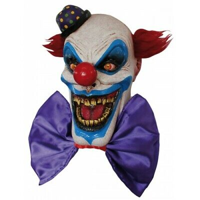 Scary Halloween Latex Head & Neck Mask Clown Chompo - Top Quality - Realistic