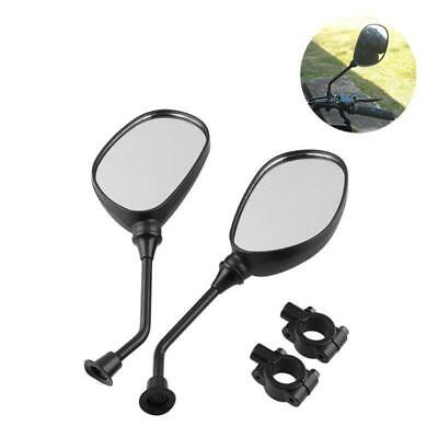 Rear view mirror set for Honda line of ATVs Universal fit on handle bars