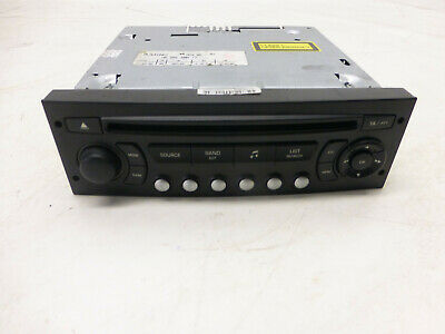 Peugeot 807 HDi 2 L BJ 2006 CD Audio Radio Player 7645041392