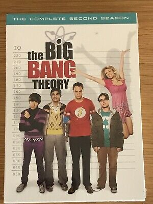 The Big Bang Theory The Complete 2nd Season (DVD, 2009, 4-Disc Set) New Sealed