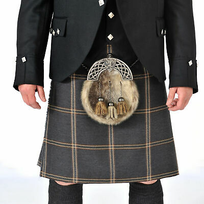 Eternity 8 Yard 16oz Made to Measure Wool Kilt with Free Flashes