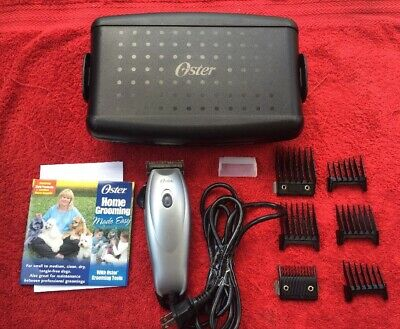 Oster Model 78950-100 Electric Clipper With Case, Accessories & Instructions