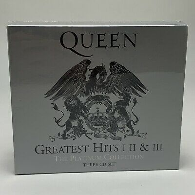Queen Greatest Hits 1 2 And 3 Audio CD - The Platinum Collection 2011 Remastered