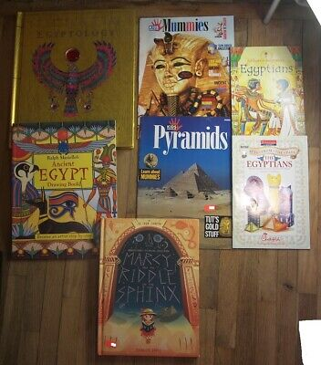 7BK Egypt Egyptology Ancient Crafts for Kids Sphinx Mummies Pyramids Drawing