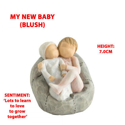 Willow Tree My New Baby (Blush) Figurine 27780 Brand New & Boxed - RRP £24