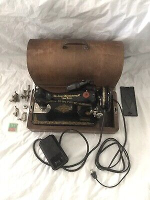 1951 Singer Sewing Machine Model 99 Centennial Anniversary Edition