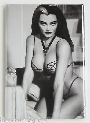 Lily Munster FRIDGE MAGNET (2 x 3 inches) spider web bikini munsters sexy