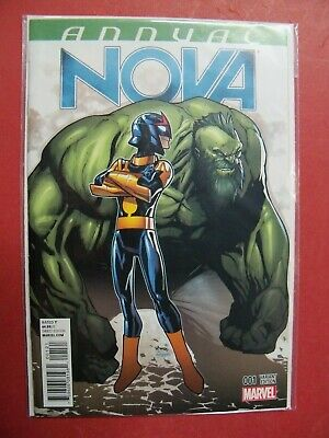 NOVA  ANNAUL #1  HUMBERTO RAMOS VARIANT COVER (9.4 NM Or Better) MARVEL COMICS