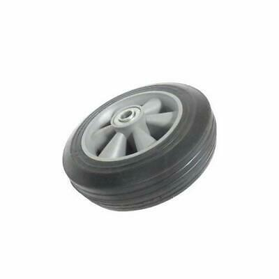 "Professional EZ Travel Collection Replacement Cart Wheel, Solid 10"" Rubber Tire"