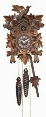 Quartz Movement Bird with Leaves Wooden German Cuckoo Clock with Music Germany