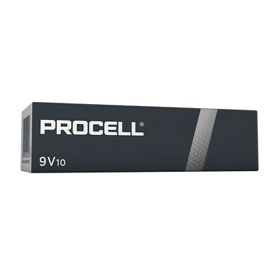 10 Pack Duracell PROCELL PP3 9V MN1604 6LR61 Batteries High Power Alkaline NEW
