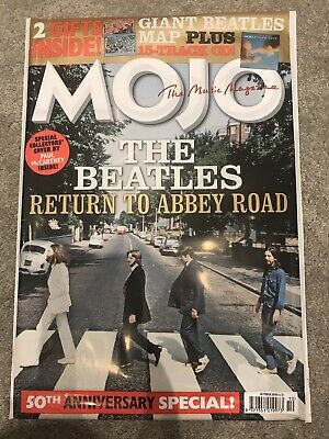 **The Beatles Abbey Road 50Th Anniversary Mojo Magazine - Sealed New Condition**