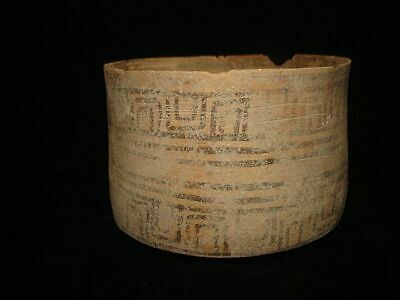 ANCIENT PAINTED BOWL JUG!~~FROM EARLY BRONZE AGE! 3000BC~~~no reserve