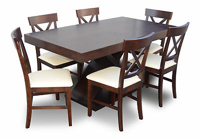 Hotel Konferenzzimmer Table XXL Tables Meeting Table Office +6 Chairs Chair