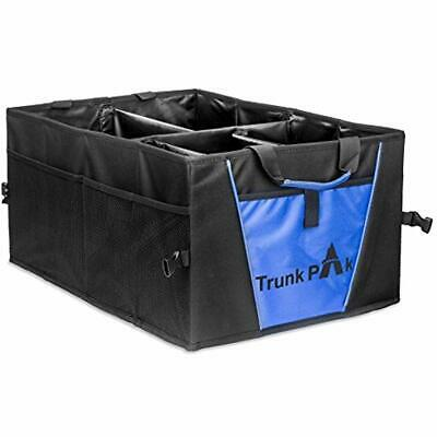 """TRUNKPAK Trunk Organizer - Collapsible Car All Types Vehicles Storage """" Box Auto"""
