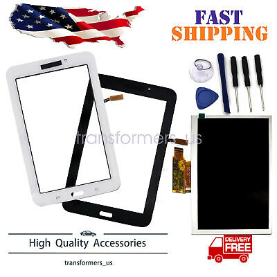 Touch Screen Glass Digitizer + LCD Fit For Samsung Galaxy Tab E Lite 7.0 SM-T113