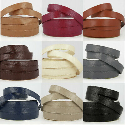 25mm Imitation Faux Leather Webbing Bag Belt Strapping Coat Jacket Dog