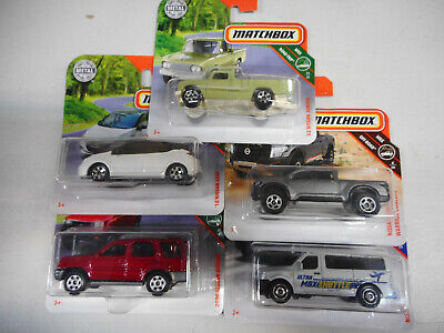 Nissan Junior Titan Warrior Leaf Nv Xterra Matchbox 1/64