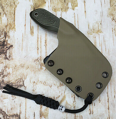 """HAND MADE KYDEX SHEATH for GERBER """"TRI-TIP"""" MINI CLEAVER, DOTS-LOK, GKY262"""