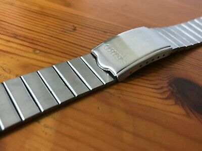 Seiko 18Mm 20Mm 22Mm Stainless Steel Gents Watch Strap,New