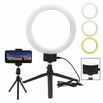 LED Ring Light with Stand Lighting Kit Phone Light for Youtube Live Makeup