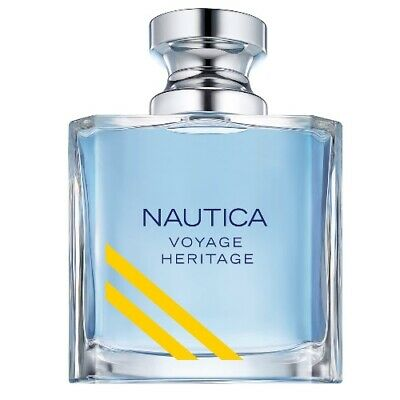Nautica Voyage Heritage by Nautica 3.4 oz EDT Cologne for Men Brand New Tester