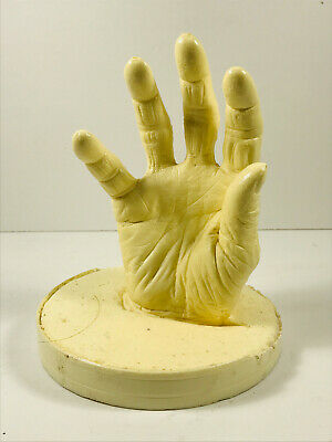 VTG Resin Cast Old Woman's Hand Halloween Zombie Grave Nana