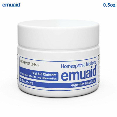 Emuaid First Aid Ointment 0.5oz - For Eczema Acne Dermatitis Psoriasis & More