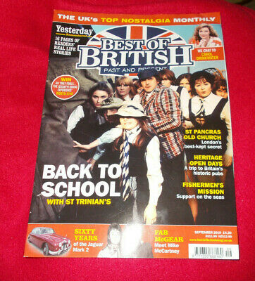 Best Of British Past & Present Magazine September 2019