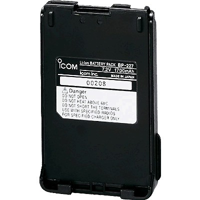Icom IC-BP-227 Li-Ion Battery Pack, M88