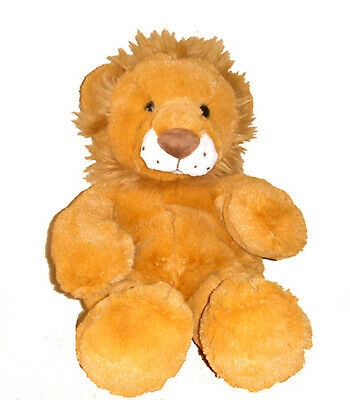 Unstuffed Lion Brown Build Stuff Your Own Animal NeW