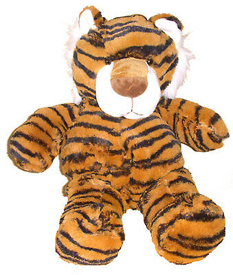 Unstuffed Tiger Orange Black Build Stuff Your Own Animal NeW