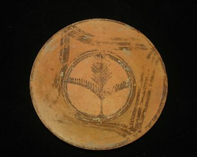 Amazing!!   Ancient Painted Plate~3000Bc  Early Bronze Age Neolithic