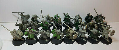 24x Warriors of Rohan part painted Lord of the Rings Middle-Earth SBG The Hobbit