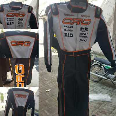 CRG race suit  CIK/FIA level 2  (free gifts)