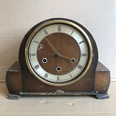 Vintage Smiths Mantle Clock with K6A 541 Movement - 3 Train Westminster Chime