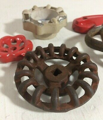 Lot 5 Valve Knobs/handles plumbing fixtures