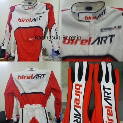 Birel Art Printed Racing Suit Cik Fia Level Ii Approved