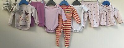 Baby Girls Bundle 3-6 Little White Company BHS F&F Primark Mothercare TU <H8265