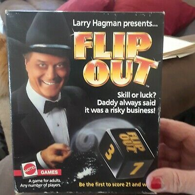 Flip Out Game by Larry Hagman 1985
