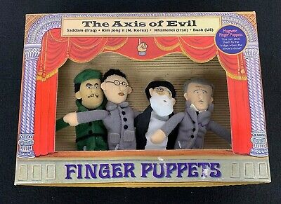 Axis Of Evil Finger Puppets