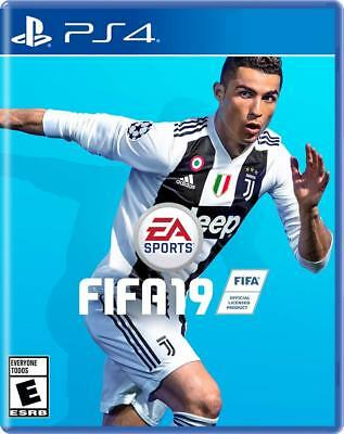 FIFA 19 2019 PS4 Standard Edition Brand New Sealed Ship w Tracking