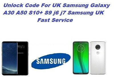 Unlock Code For UK Samsung A71 A51 S10+ S8 PLUS ALL Samsung UK Fast unlock