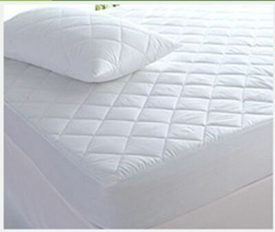 Extra Deep Fitted Quilted Mattress Protector Fitted Bed Cover sizes available
