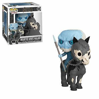 Funko POP rides Game of thrones Mounted White Walker on horse Vinyl Figure #60