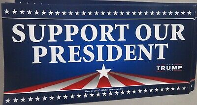 Wholesale Lot Of 10 Support Our President  Trump Stickers 45Th Usa 45 Donald Us