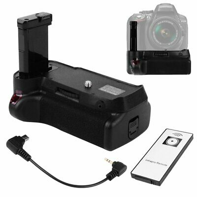 Vertical Battery Grip + Remote Control For Nikon D3100 D3200 D3300 D5300 Camera