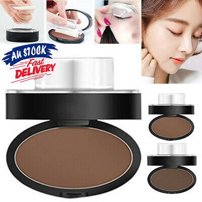 EYEBROW STAMP Natural Definition Palette Brown Cosmetic S4 Powder Brow Makeup